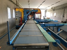 CNC obráběcí centrum Hundegger K2i